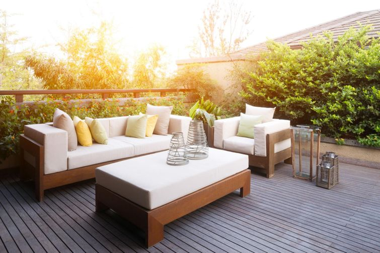 There are plenty of ways to design and decorate your deck.