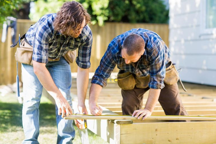 Here are helpful step-by-step instructions to building your own deck.