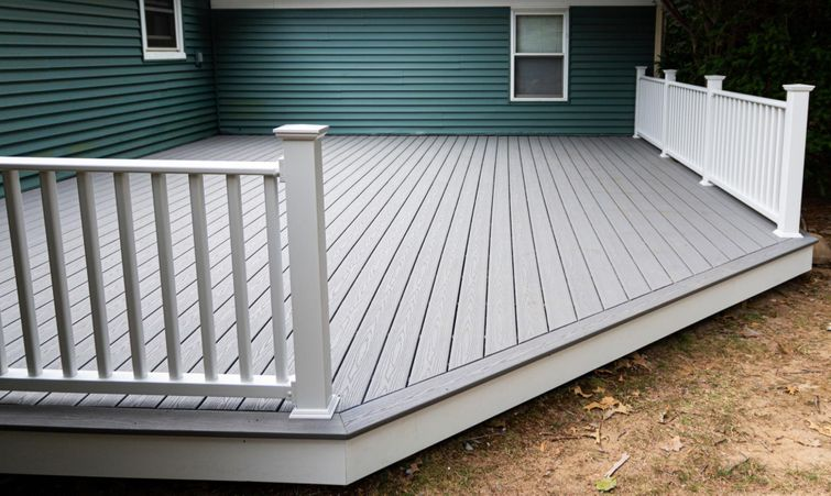 Composite decking usually comes with a 20-year guarantee.
