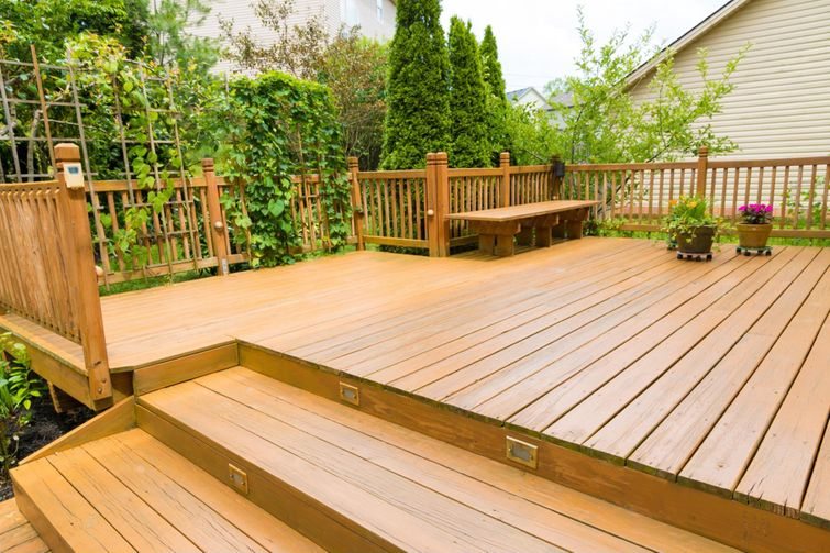 A permit for a deck can be obtained through your municipality.