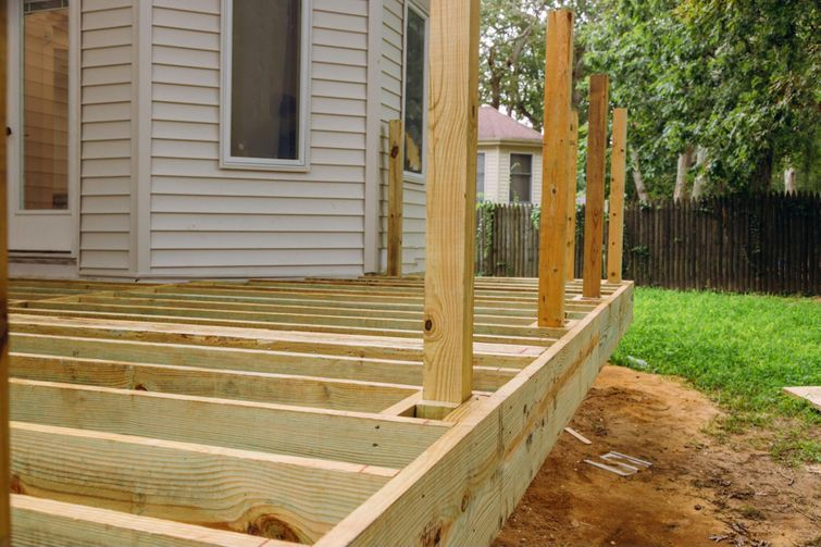 Structural maintenance to a deck requires a permit in Ontario.