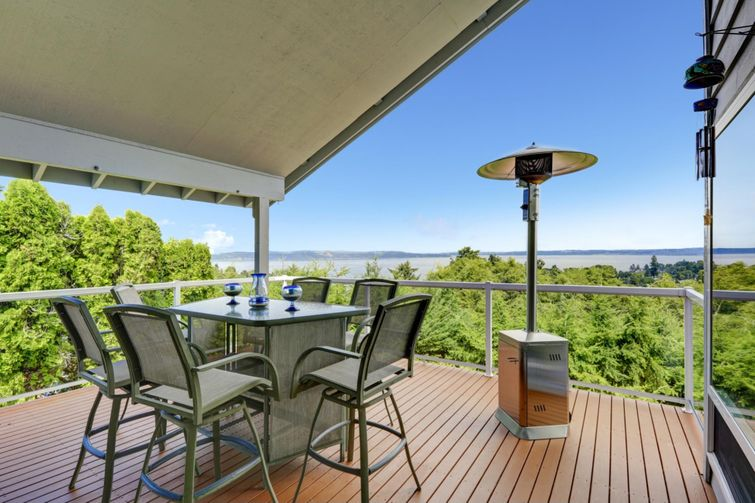 Adding a roof can get you to use your deck, even in the rain.